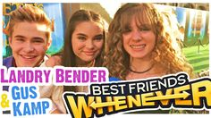 YES! New interviews with #LandryBender & #GusKamp from #BestFriendsWhenever on #DisneyChannel! We're talking time travel, dresses, and season 2!