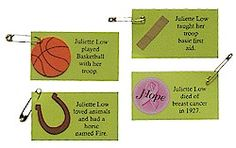 Step 2: Make Juliette Low SWAPs from MakingFriends.com