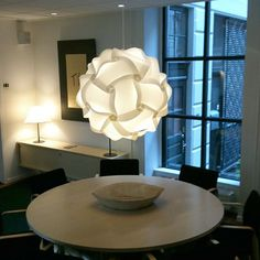 DIY White Ceiling Pendant IQ Jigsaw Puzzle Ze Lamp Light Shade M,L,XL NEW #Unbranded #Modern