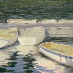John singer Sargent - love the peaceful feeling of this