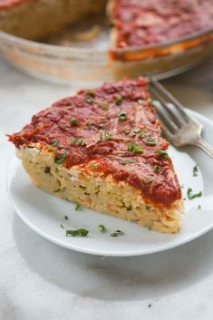 Deliciously comforting baked spaghetti pie that's easy enough for a busy weeknight meal, and beloved by the entire family. Also a great take-and-bake meal for a family or friend in need. My family Baked Spaghetti Pie, Spaghetti Pie Recipes, Vegetarian Spaghetti, Spaghetti Dinner, Cheesy Spaghetti, Spaghetti Noodles, Easy Pie Recipes, Other Recipes, Lasagna