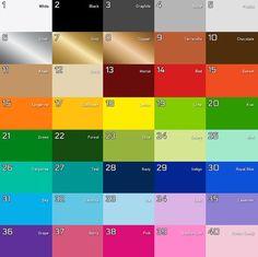 CrylaS Color Chart  DalerRowney    Colour Chart