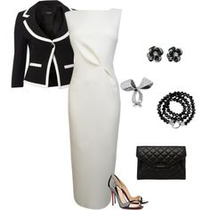 Untitled #891 by julia0331 on Polyvore featuring polyvore fashion style Roksanda Ilincic Hobbs Christian Louboutin Givenchy
