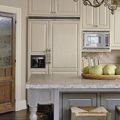 Amazing Grays: DIY Paneled Refrigerator