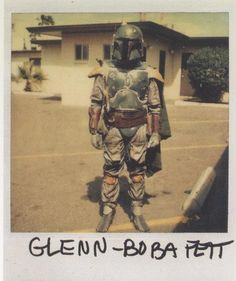 Star Wars polaroids, from Retirn of the Jedi.