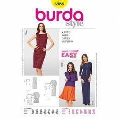 Burda - 6988. For jersey.