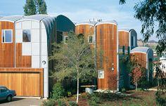 Private house, Palo Alto (USA) by Stan Field Associates  #wood #architecture #QuartzZinc #roofing #facade #zinc #VMZINC #USA