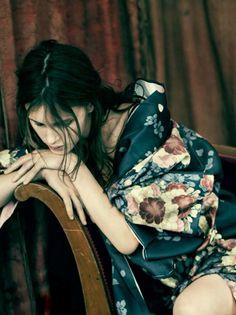 Marine Vacth by Paolo Roversi for Vogue Italia ( January 2014 )