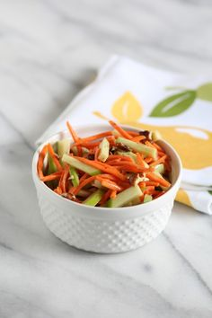 Apple Carrot Slaw from Pidges Pantry