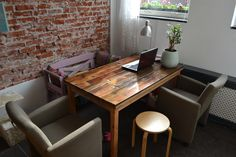 diy dining table / eettafel by Linda van Deursen