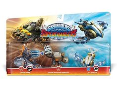 Skylanders SuperChargers Triple Pack 1 Jet Stream Shark Tank Shark Shooter Terrafin >>> Continue to the product at the image link.Note:It is affiliate link to Amazon.