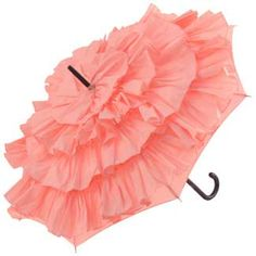 Brolliesgalore Cancan Parasol by Guy de Jean in Candy Pink
