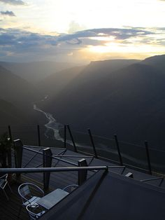 Sunset in Chicamocha Canyon Park - Colombia by Laura Olejua - www.lauraolejua.com, via Flickr