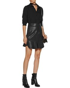 Buy IRO Women's Black Bonnie Crepe Blouse, starting at $111. Similar products also available. SALE now on!