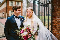 Carrie + Mike  Fairmount Horticulture Wedding Floral + Event Design by QA Designs