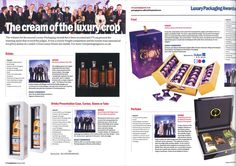 Cadbury Glow Luxury Packaging Award