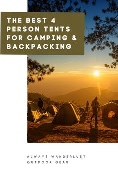 Guide to the Best 4 Person Tent for Camping and Backpacking A good tent is what makes or breaks an outdoor adventure. At one point or another, every camper needs to invest in an excellent high-quality tent. Backpacking South America, Backpacking Asia, Tent Camping, Camping Hacks, Camping Outdoors, Family Camping, Camping Ideas, Outdoor Camping, Best 4 Person Tent