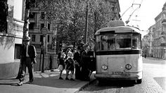 Old Oslo - electric tram