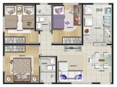Projeto de casa com 3 quartos #fachadasmodernasresidenciais