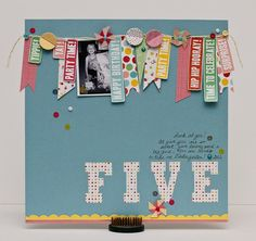 Five ***Pebbles GD layout*** - Two Peas in a Bucket