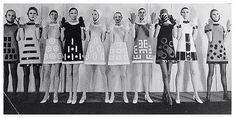 '60s space age fashion by Pierre Cardin.