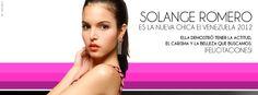 Solange Romero demostró su talento y personalidad y se convirtió en Chica E! Venezuela 2012
