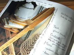 Visual Homemaking Journal from Ann Voskamp (oh yes, I love pretty pictures and journals)