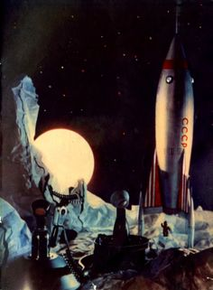As We Were Flying on a Rocket Story -part 2 (1961)