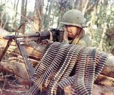 Vietnam War Weapons | It was important to maintain a plentiful supply of ammunition to feed ...