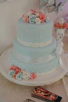 Pasteles De Bautizo fotos Cake Icing, Fondant Cakes, Cupcake Cakes, Beautiful Cakes, Amazing Cakes, Teapot Cake, Quince Cakes, White Cakes, New Cake