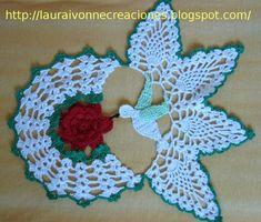 Crochet Table Runner Pattern, Crochet Placemats, Crochet Doilies, Crochet Flower Tutorial, Crochet Flower Patterns, Crochet Flowers, Thread Crochet, Filet Crochet, Crochet Stitches