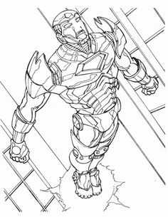 Iron Man Coloring pages for kids. Iron Men, Online Coloring Pages, Printable Coloring Pages, Coloring Pages For Kids, Coloring Books, Kids Coloring, Iron Man Flying, Marvel Coloring, Tattoo Sketches