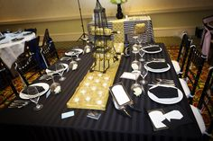 Our Amour tablescape at the PWG Fall 2012 Bridal Show!   Scoobie Schneider Photography