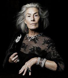 Joan Juliet Buck Models Jewels in WSJ. Magazine -- The Cut