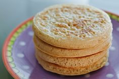 Sourdough Crumpets from @clotildenet - my go-to use for extra starter, takes 2 minutes!
