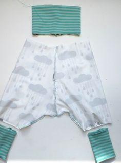 Lybstes.de: Baby-Pumphose - kostenloses Schnittmuster, fast fertig genäht