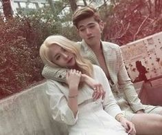 Animated gif about kpop in gif - season by gifki_Perreault Korean Couple, Best Couple, K Pop, Super Junior Songs, Otp, Bm Kard, Joker, Dsp Media, Eric Nam