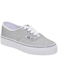 Silver Vans.