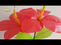 Beaded Flowers, Paper Flowers, Diy And Crafts, Christmas Crafts, Projects To Try, Plants, Jewelry, Youtube, Cactus Plants