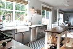 Inexpensive tips and tricks for updating a basic builder grade home.