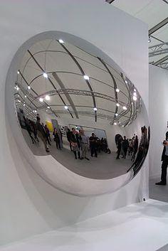 Anish Kapoor, stainless steel sculpture