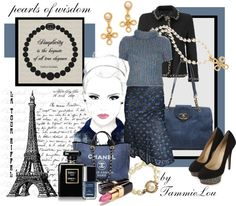 """""""pearls of wisdom"""" by tammielou1958 ❤ liked on Polyvore"""