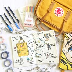 Round up of the Top 11 Yellow Bullet Planner pages from this week! What's In My Backpack, Bullet Journal Spread, Planner Pages, 3 D, Journal Ideas, Journal Inspiration, Yellow, Creative, Journaling