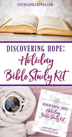 Discovering Hope Holiday Bible Study Toolkit #christmas #holidays #biblestudy #faith