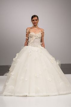 Amelia Casablanca - Sweetheart Ball Gown in Tulle