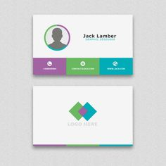Modern simple business card template free vector branding simple business card with geometric shapes free psd cheaphphosting Gallery