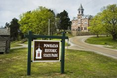 Historic Courthouse - Powhatan Historic State Park