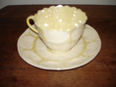 Belleek Tea Cup & Saucer Set