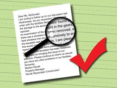 Teach Teens How To Write A Business Letter  Formal Business