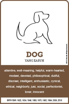 The DOG Personality